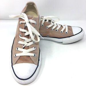 Sun bleached Converse Low Top Sneakers
